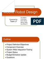 Mobile Robot Design Full Report