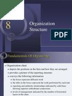 Ch 8 - Organizational Structure