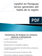 _Elespañol en Paraguay
