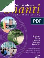 Seminarhaus Shanti 2011
