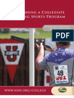 Establishing a Collegiate Shooting Sports Program