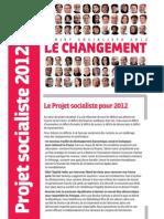 Les trente propositions du PS