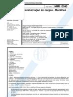 ABNT - NBR 13545 - Movimentação de Cargas - Manilhas