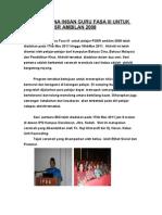 Laporan Bina Insan Guru Fasa 3 Untuk Pelajar Pgsr Ambilan 2008 A