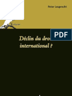 Déclin du droit international