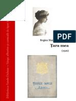 Regina Maria - Tara Mea