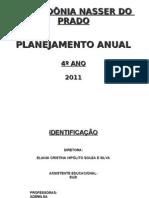 PLANO DE ENSINO 4 ANOS MANHÃ