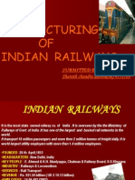 Restructuring of Indian Railways . by Group11