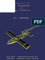 Principles of Jet Propulsion and Gas Turbines by M J Zucrow 1