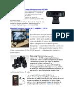 Logitec Lanza Webcam Para Video Confer en CIA HD 720p