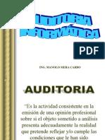 Auditoria de Sistemas 1ra. Parte