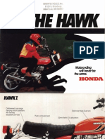 1978 Honda Hawk Brochure