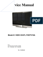 vizio vx37l hdtv service manual hdmi video rh scribd com vizio vw37l hdtv manual Vizio VX37L 37 LCD HDTV