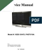 Vizio Gv47l Fhdtv10a Service Manual