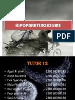 HIPOPARATIROIDISME