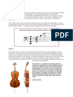 Cello Report