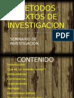 Metodos Mixtos de Investigacion