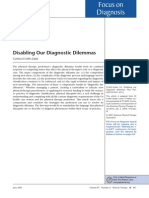 Disabling Our Diagnostic Dilemmas