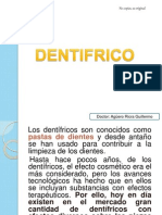 Dentifricos y Colutorios y Placa Bacteriana