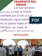 El Sacra Men To Del Orden