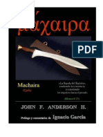 Machaira La Espada Del Espiritu