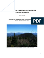 Catskill High Elevation Forest Continuum