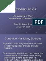 Corrosion Por Acidos Naftenicos