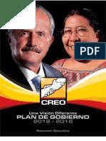 NUEVO Plan de Gobierno CREO