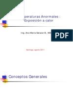 DHO Temperaruras Anormales (Calor) Ambiente