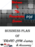 A new business plan by Simon (BUBT)