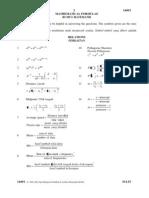 SPM Percubaan 2008 MRSM Mathematics Paper 1