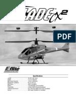 Blade CX2 Manual
