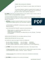 Formas Del Lenguaje Literario