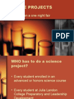 Getting Started on Your Science Project