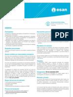 Hoja informativa de la Maestría en Marketing 2011-II