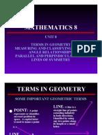 Math 8 and 9