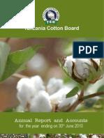 Cotton Board Annual Report 2010