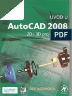 Uvod u AutoCAD 2008 2D i 3D Projektovanje (1-3)