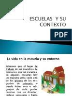 Escuelas y Su Contexto Diapositivas