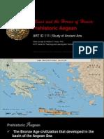 ARTID111 Prehistoric Aegean