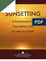 Sun Setting Paper