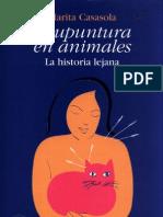 Acupuntura en Animales - Marita Casasola