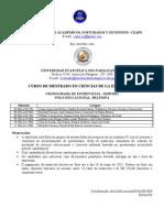 CRONOGRAMA DE ENTREVISTAS - BELÉM
