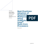 Adoption of Symmetric Multi Processing Using VxWorks and Multi-Core(321307)