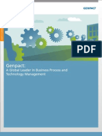 Genpact Company Overview