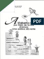 Projeto de Alfabetização por meio de textos diversos