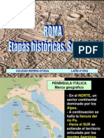 ROMA_Etapas históricas