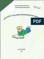 Projeto Viajando No Mundo Da Leitura