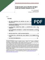 AAA CAPACIDADES version 13 julio DE GESTIÓN DEL AGUA Y CC Axel Dourojeanni-1