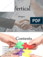 Organizatioal Behaviour (Vertical Mergers)